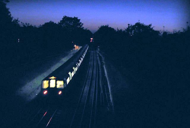 Le train magique…