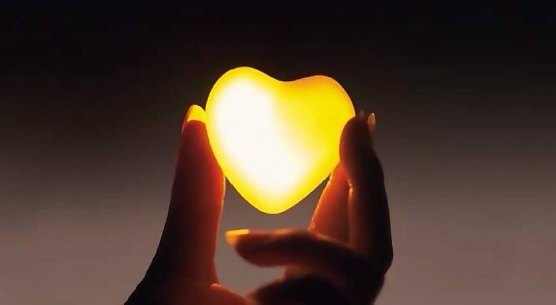 Le cœur donne