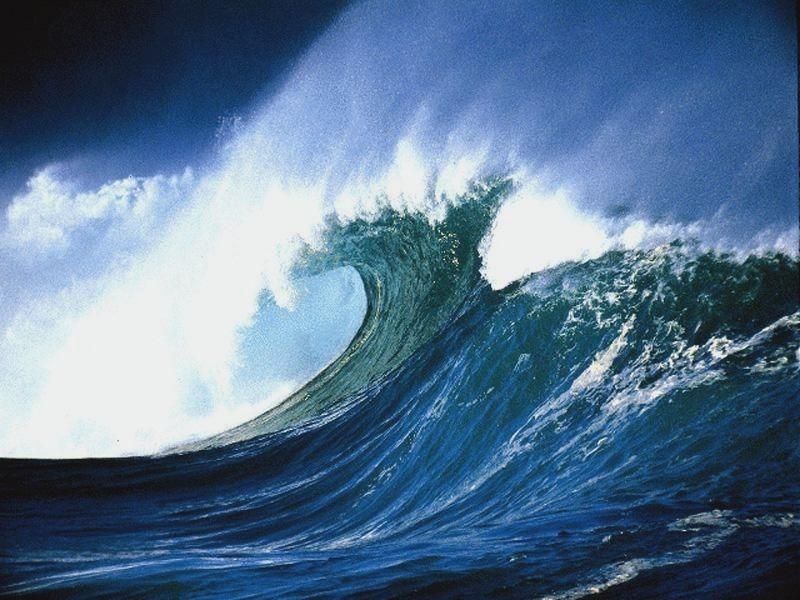 Un mouvement dans l'immuabilité de l'océan
