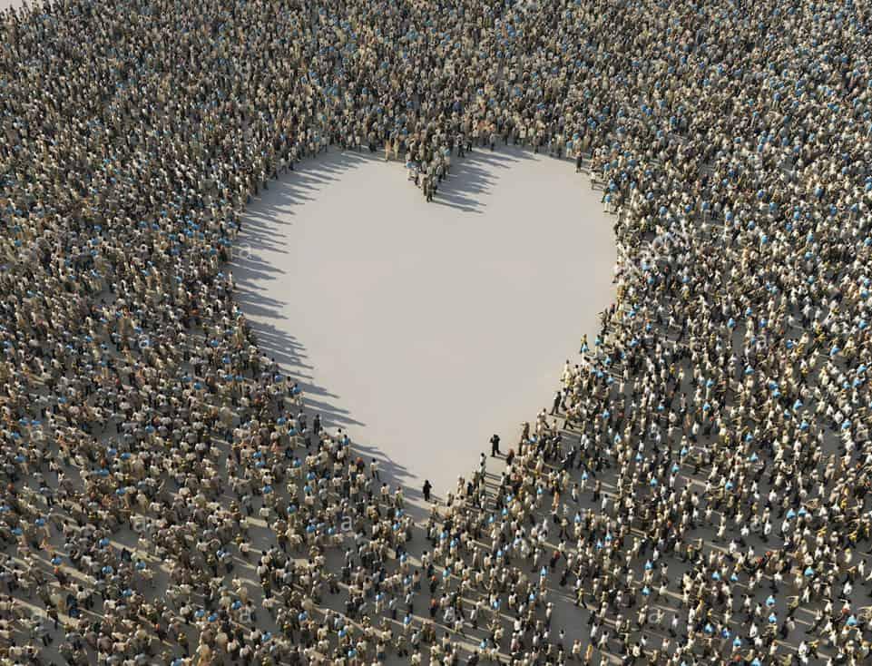 Un cœur pour l'amour