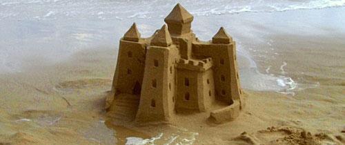 Château en sable, Sable en château